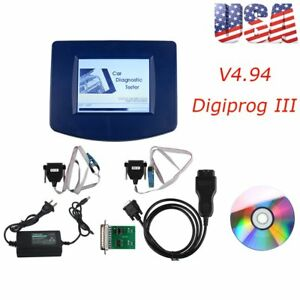 V4 94 Digiprog3 Programmer Car Speedometer Tool Full Set Multi language B2
