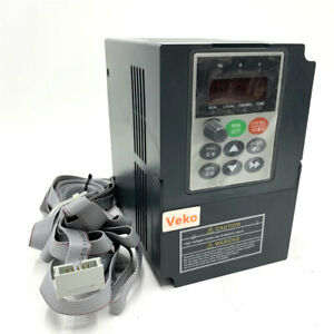 1hp 0 75kw Variable Frequency Drive Vfd Inverter Single Phase 220v 4a For Cnc