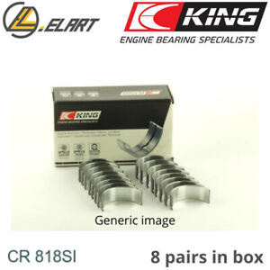 King Big End Con Rod Bearings Cr818si Std For Amc 4 8 5 0 5 9 V8