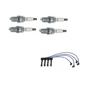 Spark Plug Wire Set W Plugs Ngk Blue He56 And Bcpr5e11 Acura Integra 1990 1991