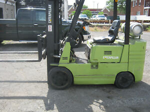 Caterpillar Gc25 Fork Lift 5000 Lbs