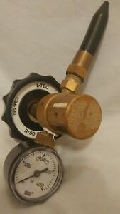 L tec R 50 bf 580 Inert Gas Regulator Usa 4000 Psi Wika Cga 580