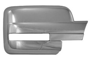 Ford F150 Lariat Fx2 Stx Lx Chrome Mirror Covers 2008 To 2012 New Ccimc67441