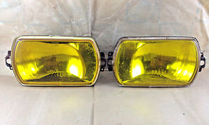 Cibie Iode 95 Drive Lamp Lens And Reflector Yellow Nos