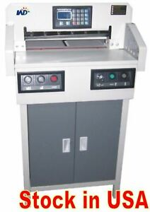 New Model Programmable Paper Cutter 18 Automatic Guillotine