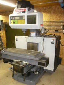 Bridgeport Series Ii 2 Cnc Vertical Mill Boss 9 R2e4 30 X 15 Travels