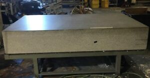 True Stone 5 X 8 X 16 Granite Surface Plate With Stand