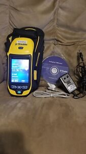 Trimble Geo Xh Geoexplorer 6000 Series 88950 Pocket Pc With Case And Charger