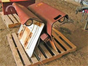 Ford 3000 Fenders Flat Top Set Tractor Lights Ie 4000 2000 3600 4600 2600