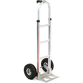 Magliner Aluminum Hand Truck With Pin Handle Pneumatic Wheels Lot Of 1