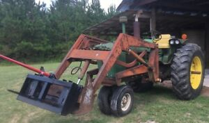 John Deere 3020 Tractor 1968 Front End Loader ie Gasoline 3010 4020