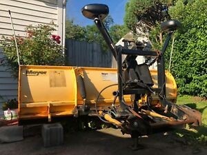 Meyer Snow Plow Model Dp 7 5 With Full Set Up