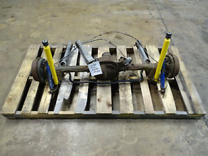 87 88 89 90 91 92 93 Mustang 8 8 Rearend Axle Assembly 4 10 Gear Used Tested 44