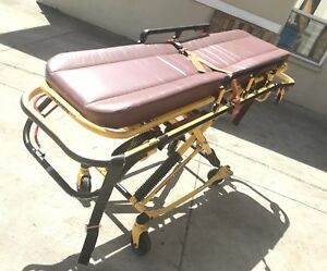 Stryker Rugged Lx Ems Ambulance Stretcher Load 500 Lb