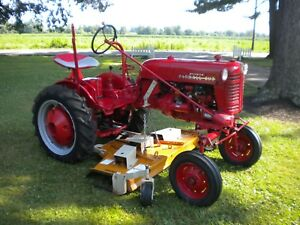 1954 Farmall Cub Low Boy With Implements And Manuals