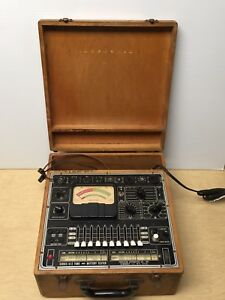 Vintage Precision Aparatus 612 Series Tube Battery Tester