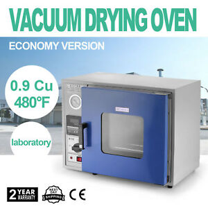 0 9 Cu Ft 480 f Lcd Dispaly Lab Vacuum Air Convection Drying Oven