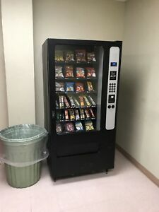 Vending Machine Lot Location Ready Pop And Snack Vending