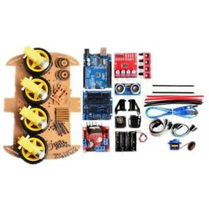 el Uno R3 Development Board Kit Intelligent Robot Car Learning Set For Arduino