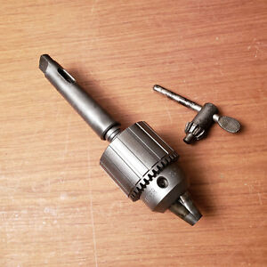 Jacobs Drill Chuck 3a 1 8 5 8 Capacity With 3 Morse Taper Shank