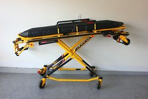 Stryker Mx pro 650lb 6082 Ambulance Stretcher W brakes Mattress Gurney Cot Ferno