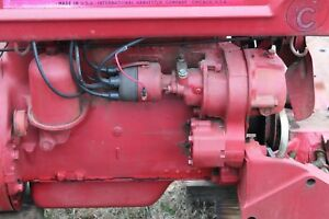Antique Tractor International Farmall Super C Parting Out Distributor
