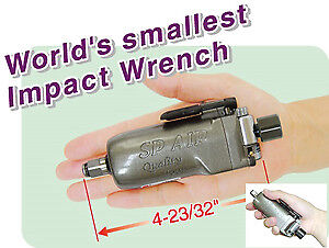 Sp Air Corporation Sp 1850 Baby Butterfly 3 8 Palm Impact Wrench