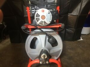Ridgid Model K 400 Powered Drum Machine Drain Cleaner Works Great Looks New