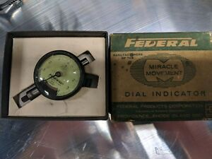 Federal Miracle Movement 0001 Dial Test Indicator