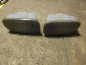 Jeep Grand Cherokee Wj 99 03 Factory Front Bumper Fog Lights Oem