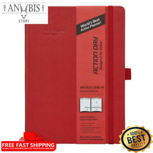 Action Day Academic Planner 2018 2019 World s Best Goals Action Layout