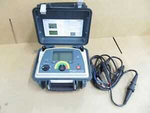 Megger Dlro10hd 10a Low Resistance Ohmmeter Calibrated