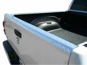 Tailgate Cap For Dodge Ram 1500 Pickup 1994 2001 Mirror Diamond Plate Polish
