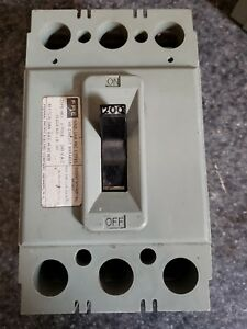 Fpe Federal Pacific Circuit Breaker 200 Amp 240v Type Hej 3 Pole
