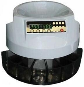 Automatic Desktop Table Professional Coin Change Sorter Counter Sort Free Post