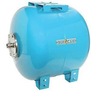 Bur cam Pumps 5312459 600614b 20 Gal Horizontal Captive Air Pressure Tank New
