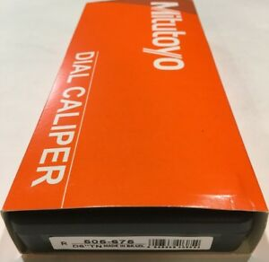 Mitutoyo Dial Caliper 6 with Case Cover Made In Brazil