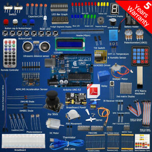 Ultimate Starter Learning Kit For Arduino Uno R3 Lcd1602 Servo Processing Us Hot