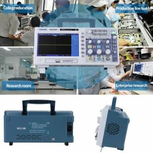 Dso5102p Digital Oscilloscope 100mhz 1ga s 2 Channels 7 Tft Lcd Usb Lab He