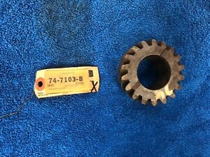 1937 39 Ford 3 Speed Transmission 2nd Speed Gear New 718