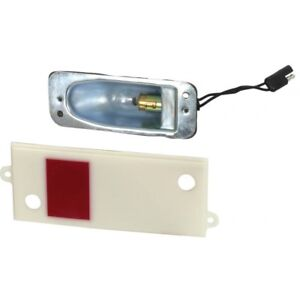 Ford Mustang Door Courtesy Light Assembly Red White Lenses For Cars With