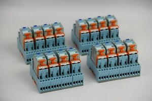 Lot Of 16 Releco Turck C9 a41 Dx 24vdc Ice Cube Plus General Purpose Relay R6112