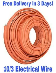 10 3 W ground Romex Indoor Electrical Wire 50 Feet southwire Romex