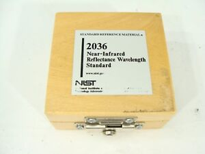 Nist Srm 2036 Near Infrared Transmission Wavelength Reference Standard Material