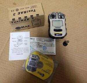 Rae Systems Pgm 1700 Toxirae 3 Hydrogen Sulfide h2s Gas Detector