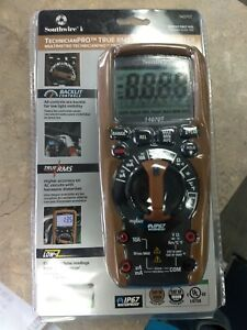 Southwire 14070t Technicianpro True Rms Cat Iv Multimeter new