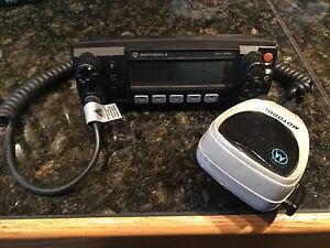 Used Motorola Xtl2500 M5 Control Head no Palm Microphone