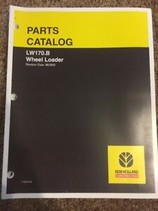 New Holland Wheel Loader Lw170 b Parts Manual Liebeherr Shop Book Lw170b