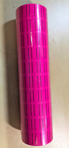 10 Rolls 5000 Tags Pink Labels For Motex Mx 5500 L5500 Mx989 Price Gun 30