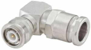 Rosenberger Right Angle 50 Cable Mount Tnc Plug Clamp Termination Flexible